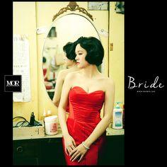 MOR Bride / 莫。新娘 -- Sunny 穿上了禮服,妝點了幸福 一個溫柔而美麗誠實的靈魂。 Be the most beautiful Bride. www.morwed.com