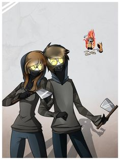 genderbend of ticci toby - Google Search