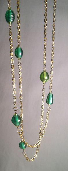 Handmade Jewelry - Forest Greens