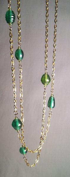 Handmade Jewelry - Forest Greens