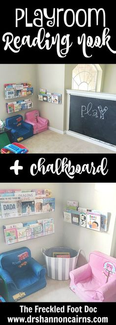 Moving Update + Fun Reading Nook - The Freckled Foot Doc