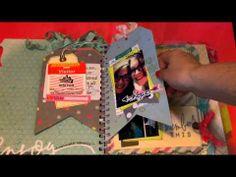 Heidi Swapp Memory File Album Progress - YouTube