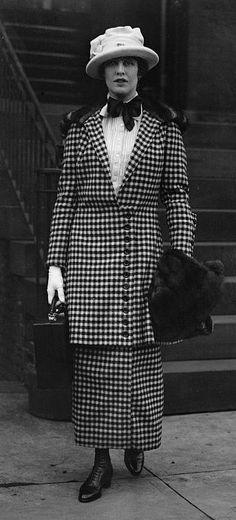 Miss Grace Warner, ca. 1912.