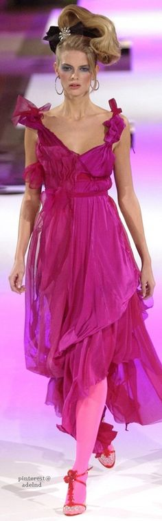 Christian Lacroix Spring 2004 Couture