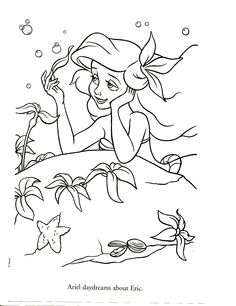 The Little Mermaid Coloring Page . the Little Mermaid Coloring Page . Free Printable Little Mermaid Coloring Pages for Kids Princess Coloring Pages Printables, Ariel Coloring Pages, Disney Princess Coloring Pages, Disney Princess Colors, Disney Colors, Coloring Book Pages, Coloring Sheets, Coloring Pages For Kids, Free Disney Coloring Pages