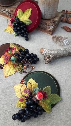 Bohemian WEDDING: Headpiece Idea for Fall - bridal & bridesmaids. By Jazzafine.