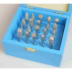 Ferronato AG eShop - BETCUT Schleifstifte-Set 20stk Ice Cube Trays, Diamond, Sous Vide, Basket, Tools, Ice Makers