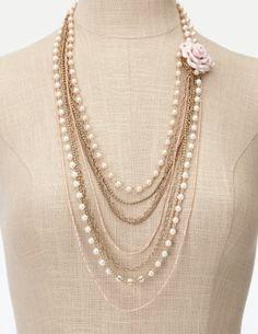 multi strand necklace<3