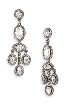Cubic Zirconia Drop Earrings | Wedding earrings, Bodas and Wedding