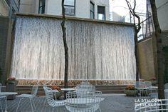 lugares secretos en Nueva York cascada paley park