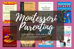 Top recommendations for books on montessori method of education and parenting.