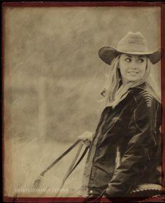 Cowgirl, Amber Marshall (Amy on Heartland).