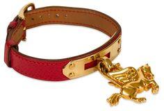 7aef617e932 Hermès Kelly Bracelet w  Charm  1