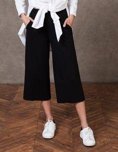 Παντελόνι τύπου culotte