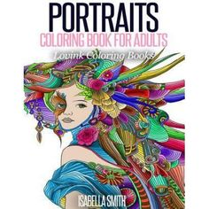 Portraits Coloring Book For Adults Lovink Books