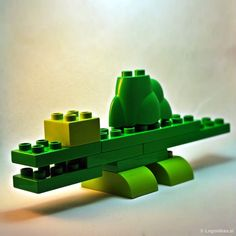 how to build a simple lego dinosaur instructions
