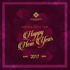 May the dawn of this New Year fill your heart with new hopes, opens up new horizons & bring for you promises of brighter tomorrows. Wishing you all a very Happy New Year. #NewDreams #NewJourney #HappyNewYear #2017 #StayFabulous #StayFashionable  #Serendipity #LifestyleExhibition