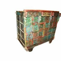 Antique Indian Chest Sideboard Buffet Rustic Carved Animals Red Green Patina by Mogul Interior, http://www.amazon.com/dp/B008BZMS8I/ref=cm_sw_r_pi_dp_kKg3pb166CZCN$1,479.00