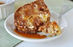 This caramel apple bundt cake is the culmination of all things to love about fall. It is also simple in preparation and actually tastes better the second day!
