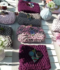 #crochet#glass#faces  #via zanella street market  may 2013