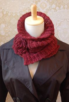 NobleKnits Yarn Shop  - Pam Powers Ruffled and Ruched Scarf Pattern, $7.95 (http://www.nobleknits.com/pam-powers-ruffled-and-ruched-scarf-pattern/)