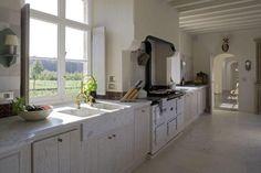 great kitchen in Belgian home..