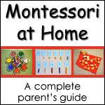 Bring Montessori learning in to your home school adventure today with printable Montessori materials