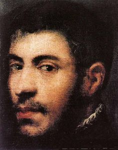 Jacopo Robusti (Tintoretto), Head of a Man, 16th century