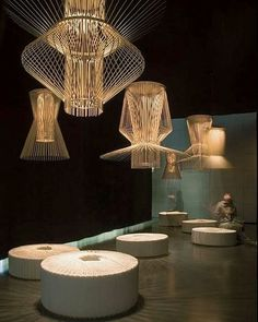 Foscarini - Lighting Lamps Lighting Design Source by Chandelier Design, Modern Chandelier, Chandelier Lighting, Chandeliers, Cool Lighting, Modern Lighting, Lighting Design, Lighting Ideas, Deco Luminaire