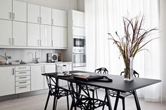 Dining room - stylish picture