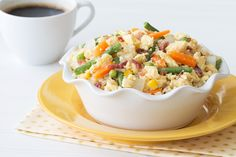 Hungry Girl's Healthy Breakfast Cauliflower Fried Rice Recipe