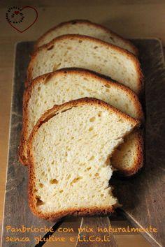 Panbrioche con Mix naturalmente senza glutine e Li.Co.Li | Un cuore di farina senza glutine