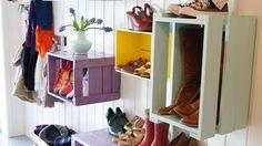 Ranger les chaussures avec style