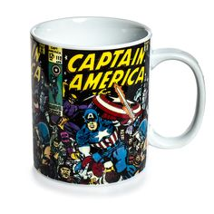 Marvel Comics Captain America Mug (Multi-Coloured)