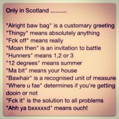 Image result for scottish sayings
