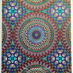 Stunning colouring page which has been coloured in by @my_coloring_life with their Chameleon Pens.   #prachtigepatronen #chameleonpens #chameleon #chameleonsofinstagram  #mandaladesign #mandala_art #instaart #instaartist #artdeco #art #coloring #colouring #kleuren #bayan_boyan #artist #volwassenenkleurenook #my_coloring_life
