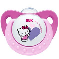 NUK Trendline: A coleção Hello Kitty - Edição Limitada. Disponível em silicone e em 2 tamanhos (0-6m;6-18). Formato NUK - Design Disney ... A gatinha mais linda do Universo que as bebés e mamãs tanto adoram! #chupetasnukprimavera