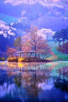 Beautiful nature of south korea