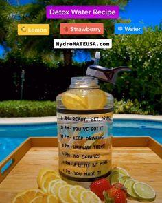 Healthy Water, Healthy Detox, Healthy Smoothies, Healthy Drinks, Healthy Tips, Smoothie Recipes, Healthy Snacks, Healthy Recipes, Infused Water Recipes