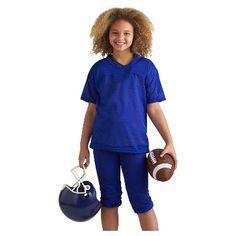 Franklin - Youth Medium Football Uniform Set - Blue, Kids Unisex