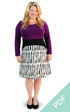 Washington Dress | Curvy Sewing Patterns | Cashmerette - Cashmerette Patterns