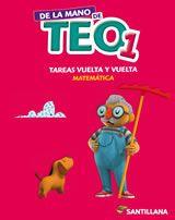 DE LA MANO DE TEO 1 - CUADERNO DE ACTIVIDADES