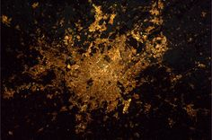 Earth seen frome space: Paris in the Night