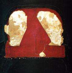 Antoni Tapies: Roig E Negre - 1963