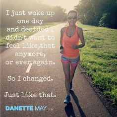 TODAY is YOUR day to CLAIM the good health you deserve. http://danettemay.com/
