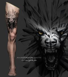 Wolf Bear Chest Tattoos for Men Wolf Tattoos Men, Animal Tattoos For Men, Badass Tattoos, Body Art Tattoos, Tatoos, Wolf Tattoo Sleeve, Chest Tattoo, Sleeve Tattoos, Fenrir Tattoo