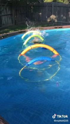 Above Ground Pool Landscaping, Above Ground Pool Decks, In Ground Pools, Pool Party Games, Pool Activities, Pool Care, Pool Hacks, Pool Accessories, Summer Pool