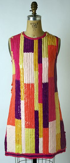 Evening dress, 1968 Chloé