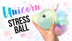 Make A Sparkly and Squishy Stress Ball! Unicorn crafts, unicorn party, unicorn gifts, street ball diy, gifts to make Unicorn Diys, Party Unicorn, Unicorn Crafts, Unicorn Emoji, Diy Stressball, Easy Diy, Simple Diy, Anti Stress Ball, Crafts To Make