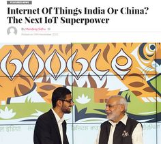 Internet Of Things India Or China? The Next IoT Superpower / @wtvox | #IoT